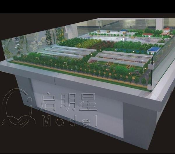 宏远养猪场模型制作