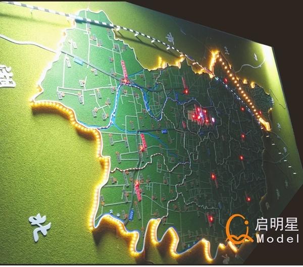 模型制作公司中绿化环境的风格体现