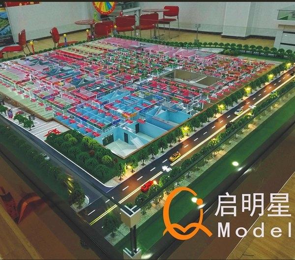 建筑沙盘模型尺寸怎么定合适?
