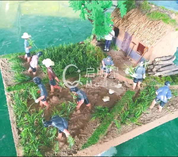沙盘模型要看小区的整体规划