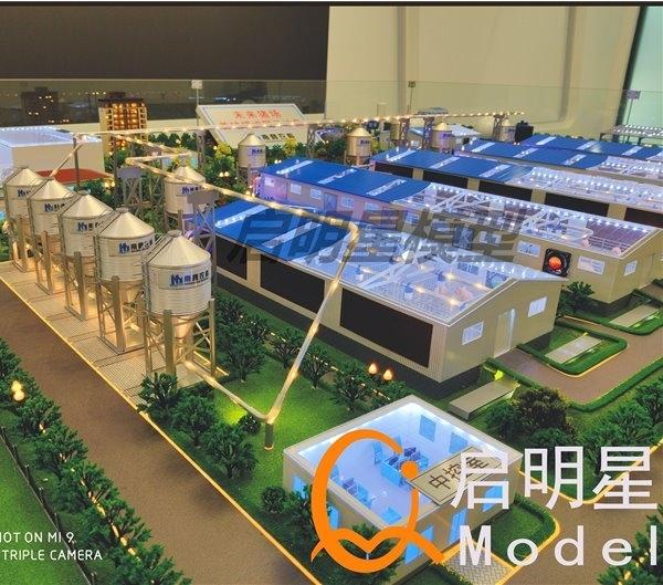 工业沙盘模型的制作流程