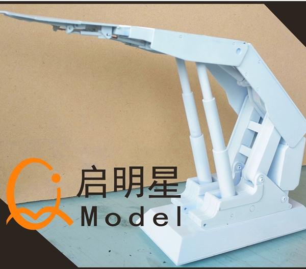 机械模型施工