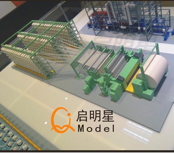 工业剖面模型