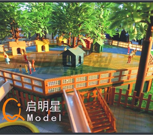 景区模型设计