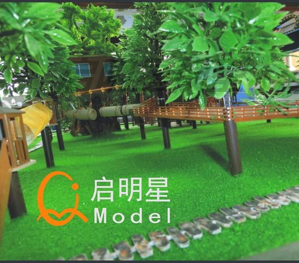 景区模型案例