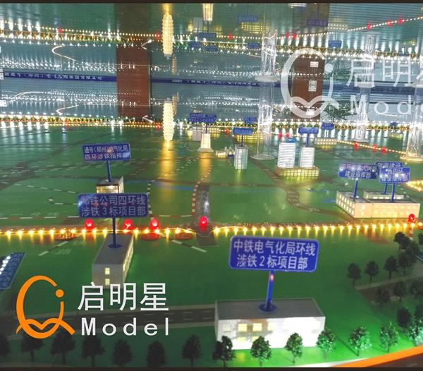 路桥模型施工案例
