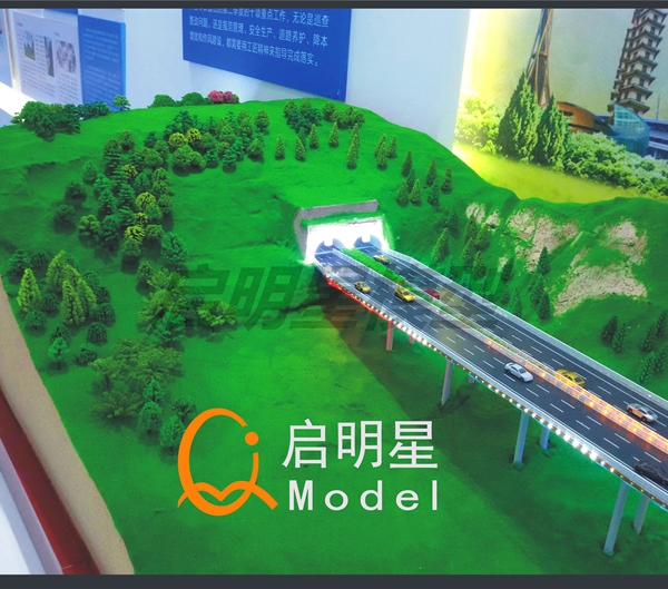 路桥模型图片