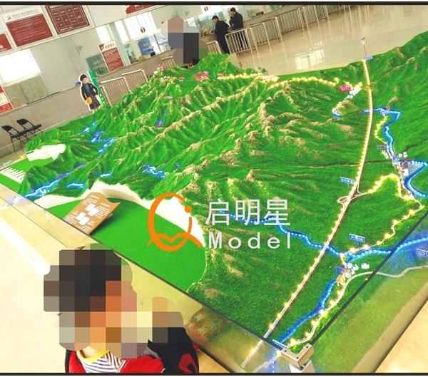 景区模型制作