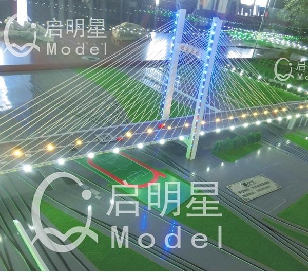 路桥设备模型