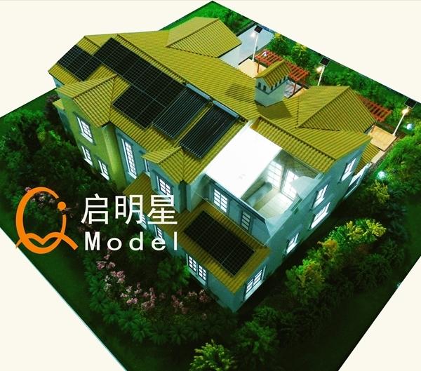 建筑物模型施工