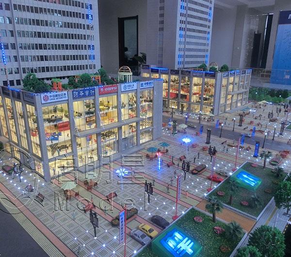 商业广场及内部业态