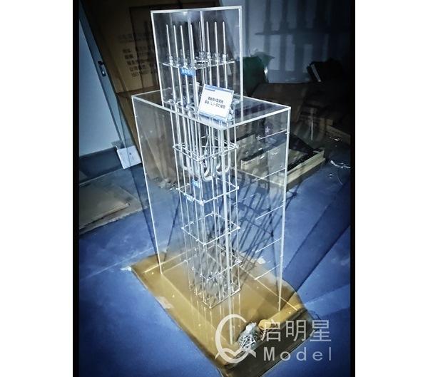 焦作高铁接触网基础展示模型