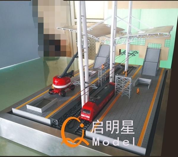 焦作火车站台