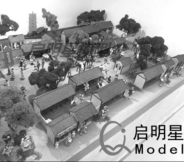 郑州展示沙盘