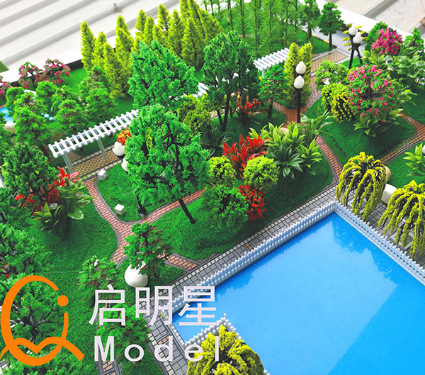 小花园景观
